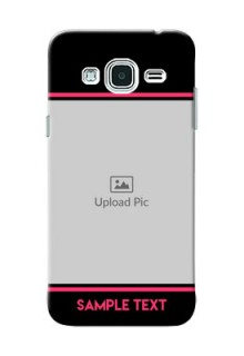 Samsung Galaxy J3 Photo With Text Mobile Case Design