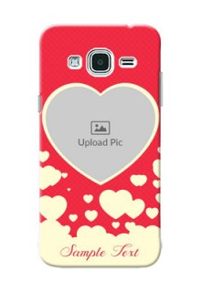 Samsung Galaxy J3 Love Symbols Mobile Case Design
