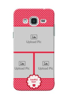Samsung Galaxy J3 Bulk Photos Upload Mobile Cover  Design