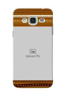 Samsung Galaxy J3 Friends Picture Upload Mobile Cover Design