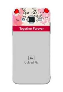Samsung Galaxy J3 Just You And Me Mobile Back Case Design