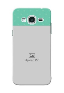 Samsung Galaxy J3 Lovers Picture Upload Mobile Cover Design