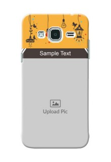 Samsung Galaxy J3 my family design with hanging icons Design Design