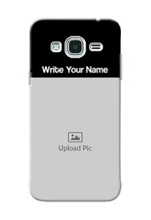 Galaxy J3 Photo with Name on Phone Case