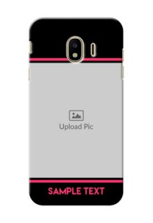Samsung Galaxy J4 (2018) Photo With Text Mobile Case Design