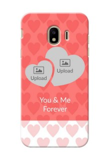 Samsung Galaxy J4 (2018) Couples Picture Upload Mobile Cover Design