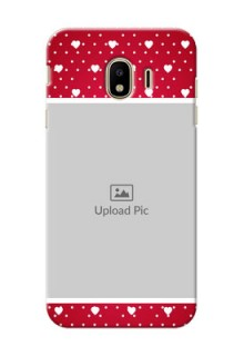 Samsung Galaxy J4 (2018) Beautiful Hearts Mobile Case Design