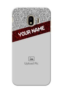 Samsung Galaxy J4 (2018) 2 image holder with glitter strip Design