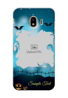 Samsung Galaxy J4 (2018) halloween wither frame Design