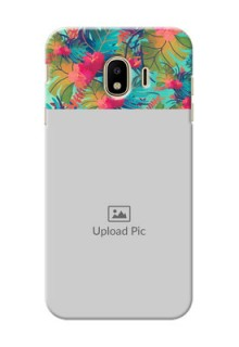 Samsung Galaxy J4 (2018) colourful watercolour floral Design