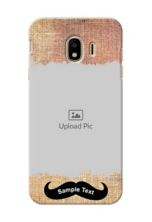 Samsung Galaxy J4 (2018) modern cloth texture Design