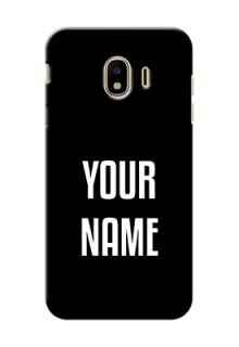 Galaxy J4 (2018) Your Name on Phone Case