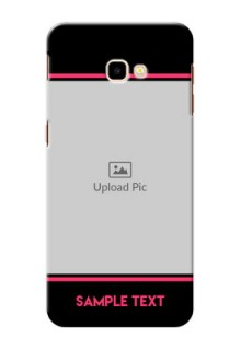 Samsung Galaxy J4 Plus Mobile Covers With Add Text Design