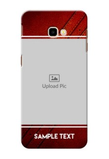 Samsung Galaxy J4 Plus Back Covers: Leather Phone Case Design
