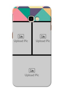 Samsung Galaxy J4 Plus personalised phone covers: Bulk Pic Upload Design