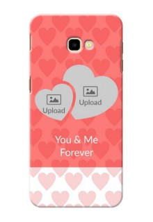 Samsung Galaxy J4 Plus personalized phone covers: Couple Pic Upload Design