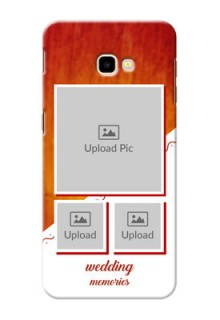 Samsung Galaxy J4 Plus Personalised Phone Cases: Wedding Memories Design