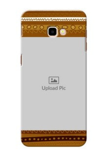 Samsung Galaxy J4 Plus Mobile Covers: Friends Picture Upload Design