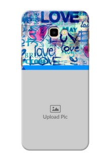 Samsung Galaxy J4 Plus Mobile Covers Online: Colorful Love Design