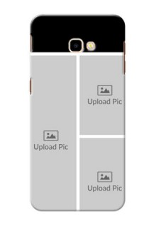 Samsung Galaxy J4 Plus Custom Mobile Cover: Upload Multiple Picture Design