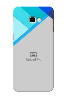 Samsung Galaxy J4 Plus Phone Cases Online: Blue Abstract Cover Design