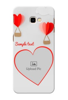 Samsung Galaxy J4 Plus Phone Covers: Parachute Love Design
