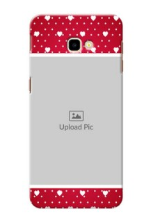 Samsung Galaxy J4 Plus custom back covers: Hearts Mobile Case Design