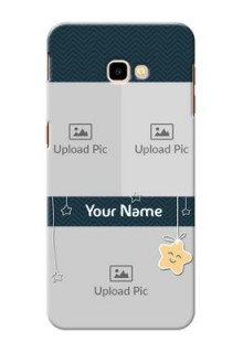 Samsung Galaxy J4 Plus Mobile Back Covers Online: Hanging Stars Design