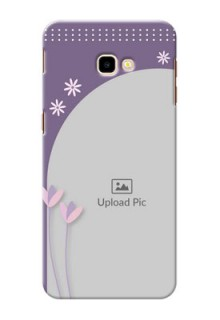 Samsung Galaxy J4 Plus Phone covers for girls: lavender flowers design