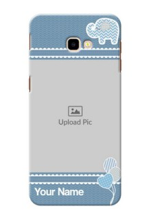 Samsung Galaxy J4 Plus Custom Phone Covers with Kids Pattern Design