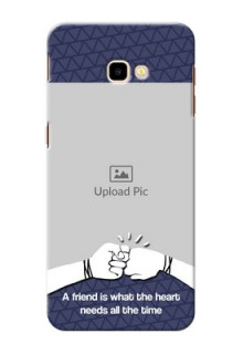 Samsung Galaxy J4 Plus Mobile Covers Online with Best Friends Design