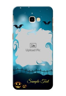 Samsung Galaxy J4 Plus Personalised Phone Cases: Halloween frame design