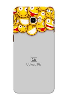 Samsung Galaxy J4 Plus Custom Phone Cases with Smiley Emoji Design