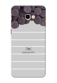 Samsung Galaxy J4 Plus Custom Mobile Covers with Oreo Biscuit Design