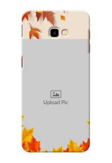 Samsung Galaxy J4 Plus Mobile Phone Cases: Autumn Maple Leaves Design