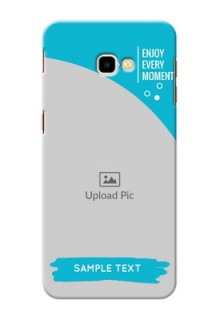 Samsung Galaxy J4 Plus Personalized Phone Covers: Happy Moment Design