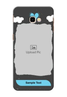 Samsung Galaxy J4 Plus Mobile Back Covers: splashes with love doodles Design