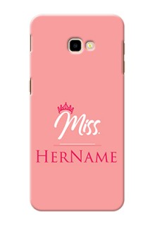 Galaxy J4 Plus Custom Phone Case Mrs with Name