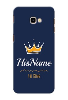 Galaxy J4 Plus King Phone Case with Name