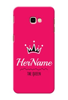 Galaxy J4 Plus Queen Phone Case with Name