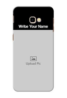 Galaxy J4 Plus Photo with Name on Phone Case
