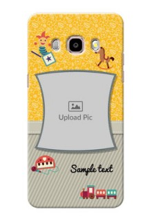 Samsung Galaxy J5 (2016) Baby Picture Upload Mobile Cover Design
