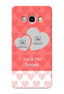 Samsung Galaxy J5 (2016) Couples Picture Upload Mobile Cover Design