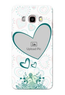 Samsung Galaxy J5 (2016) Couples Picture Upload Mobile Case Design