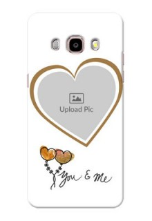 Samsung Galaxy J5 (2016) You And Me Mobile Back Case Design