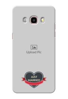 Samsung Galaxy J5 (2016) Just Married Mobile Cover Design