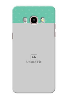 Samsung Galaxy J5 (2016) Lovers Picture Upload Mobile Cover Design