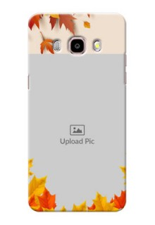Samsung Galaxy J5 (2016) autumn maple leaves backdrop Design