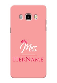 Galaxy J5 (2016) Custom Phone Case Mrs with Name