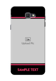 Samsung Galaxy J5 Prime Photo With Text Mobile Case Design